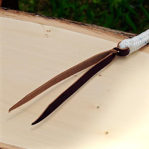 Detailansicht Ring Seil - Drehkippkarabiner
