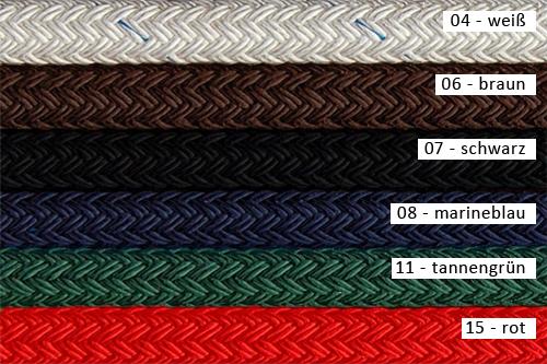 Farbvarianten Zügel geschlossen Polyester