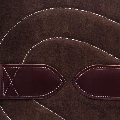 Bareback Pad Leder - braun